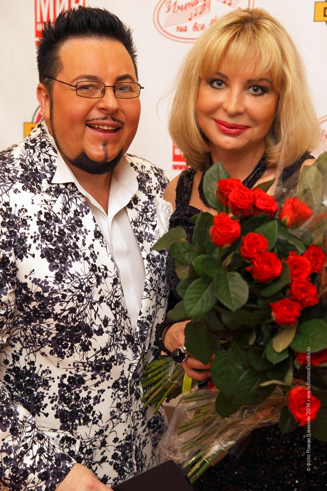 Дмитрий Писарев и Катерина Голицына Концерт Летний шансон, 21 июня 2014 года © фото Роман Данилин' 2014 / www.RomanDanilin.ru