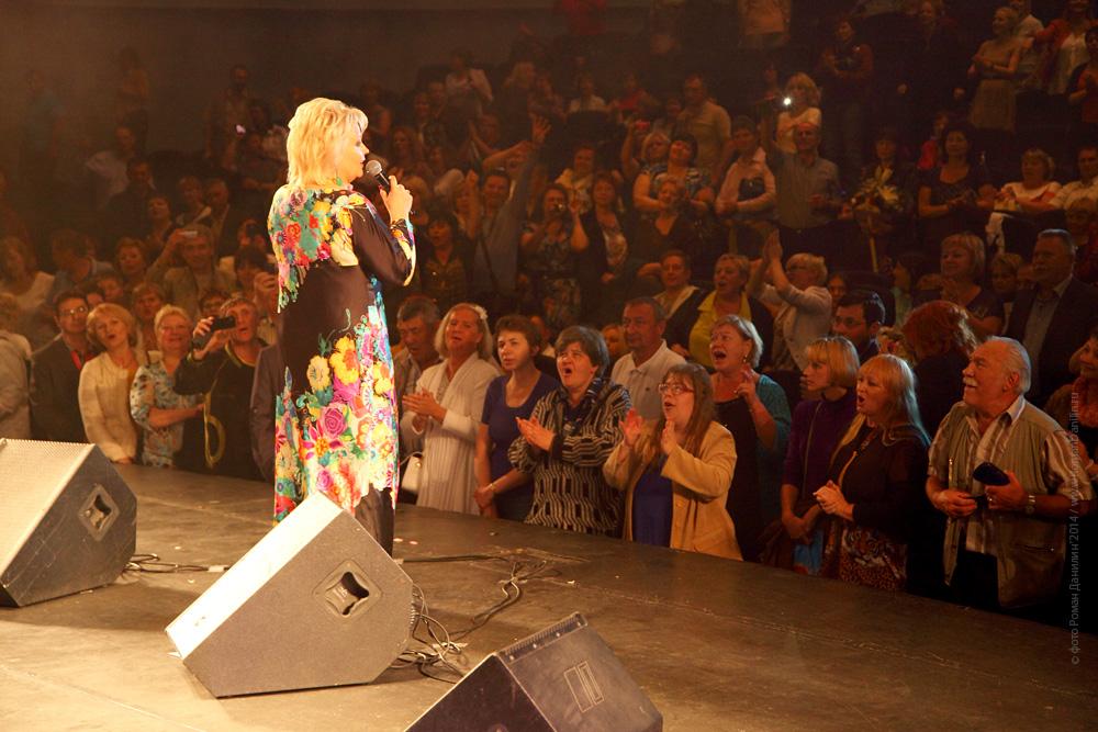 Анне Вески. Концерт Летний шансон, 21 июня 2014 года © фото Роман Данилин' 2014 / www.RomanDanilin.ru