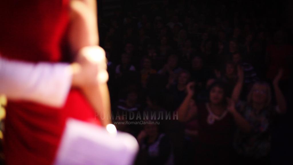 Катерина Голицына и Дмитрий Христов. Концерт Лучшие песни, 29 октября 2014 года, Подольск © фото Роман Данилин' 2014 / www.RomanDanilin.ru
