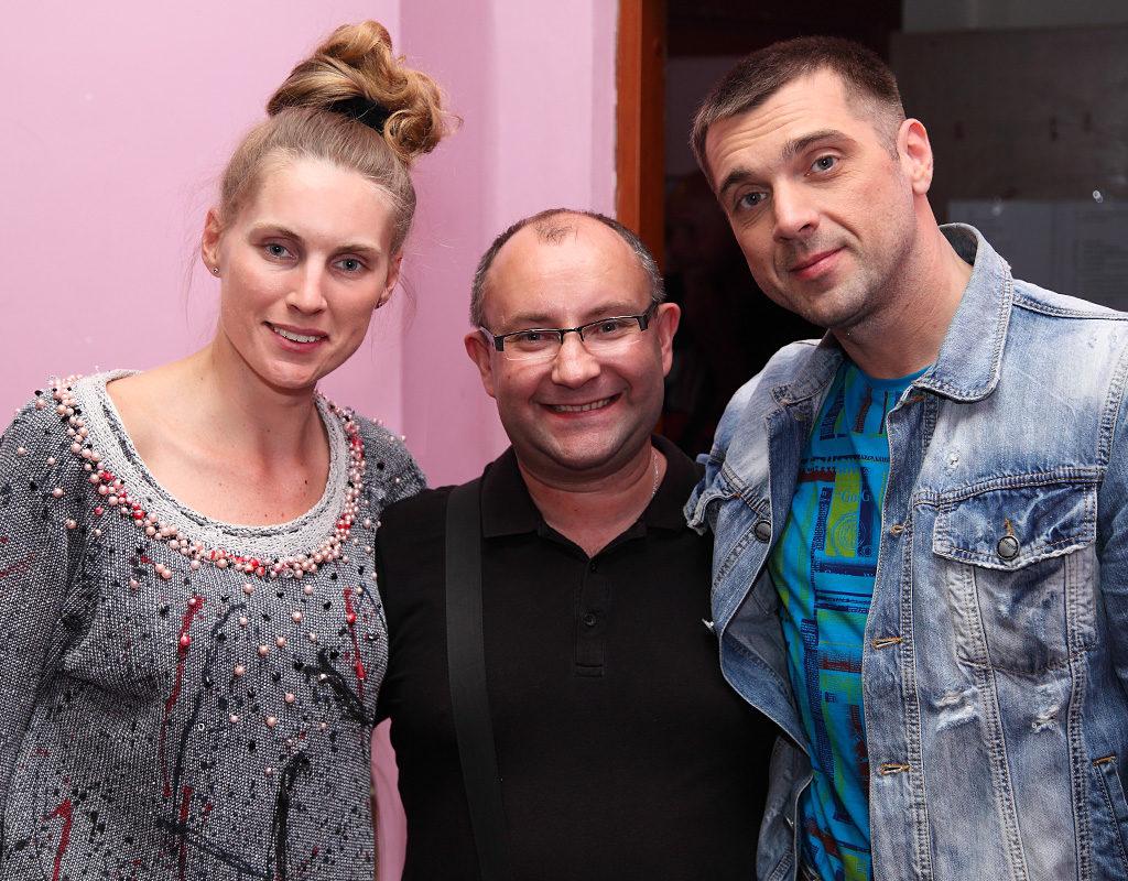 Екатерина Куприк, Алексей Исааков и Сергей Куприк 29 мая 2014 года © фото Роман Данилин' 2014 / www.RomanDanilin.ru