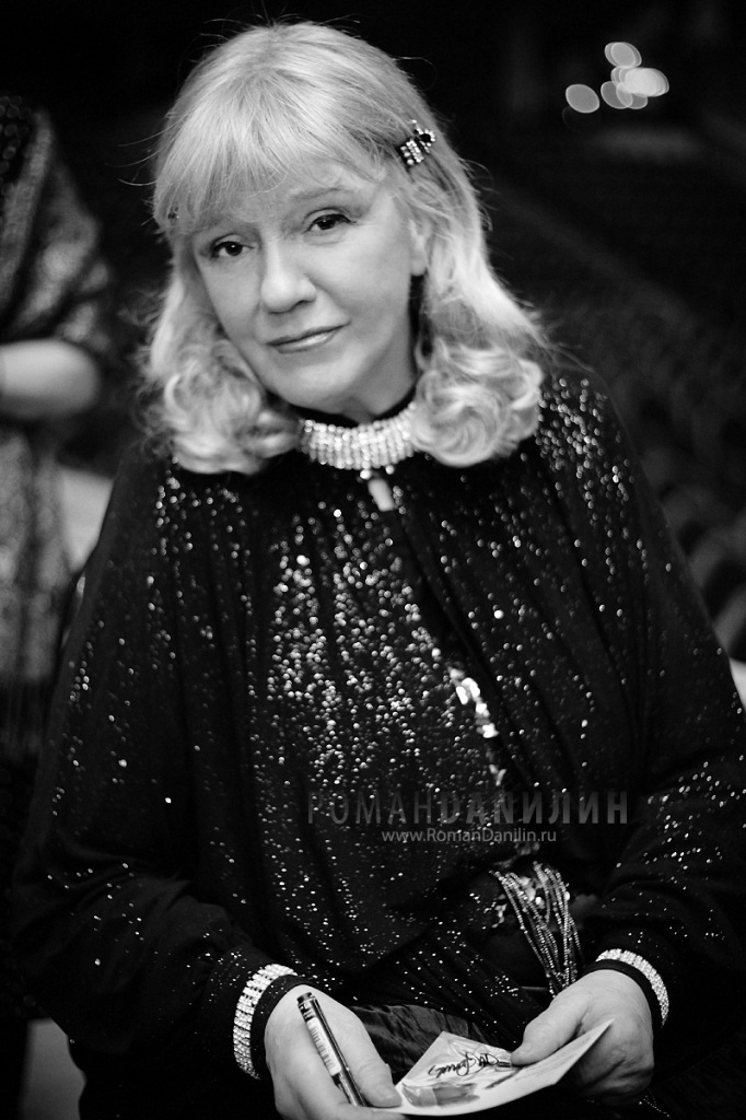 Жанна Бичевская. Юбилейный конецерт 18 октября 2014 года © фото Роман Данилин' 2014 / www.RomanDanilin.ru