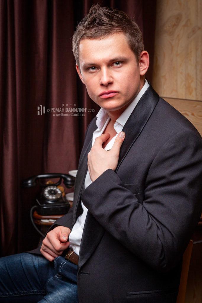 Мужской портрет © фото Роман Данилин' 2015 / www.RomanDanilin.ru