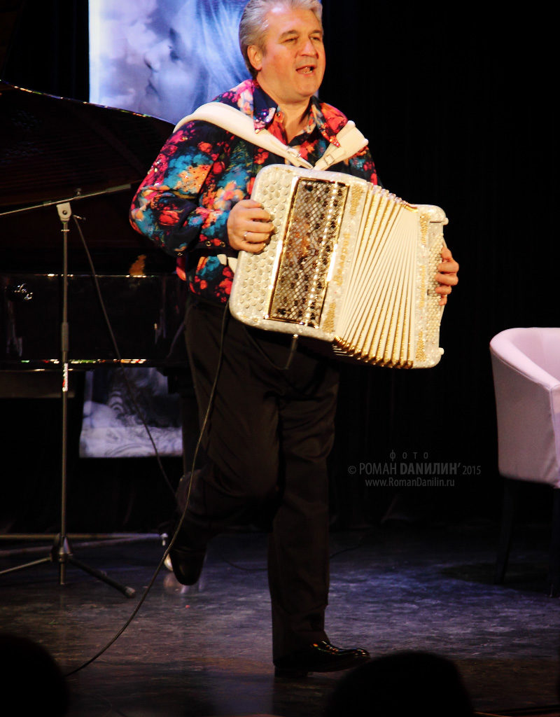 Валерий Сёмин. Концерт Душевные песни. 29 марта 2015 года, ДомЖур, Москва © фото Роман Данилин' 2015 / www.RomanDanilin.ru