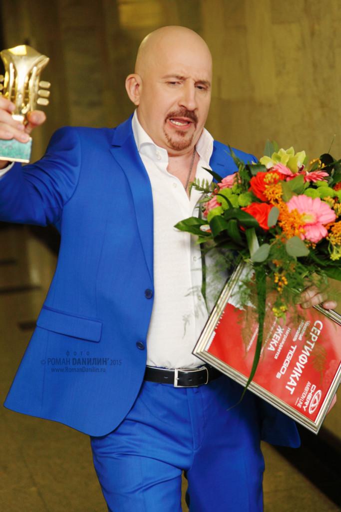 Евгений Григорьев (Жека). Шансон года 2015. 18 апреля 2015 года, Государственный Кремлёвский дворец, Москва © фото Роман Данилин' 2015 / www.RomanDanilin.ru