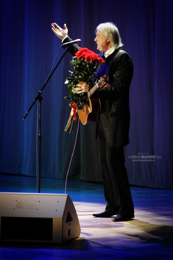 Геннадий Пономарёв. Концерт Любимые песни и романсы. 28 ноября 2015 года, Зал Церковных Соборов, Москва © фото Роман Данилин' 2015 / www.RomanDanilin.ru