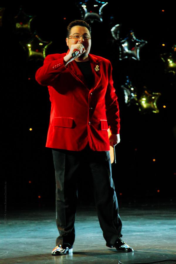 Дмитрий Писарев. Концерт Новогодний шансон. 2 января 2014 года, КЗ Мир, Москва © фото Роман Данилин' 2014 / www.RomanDanilin.ru