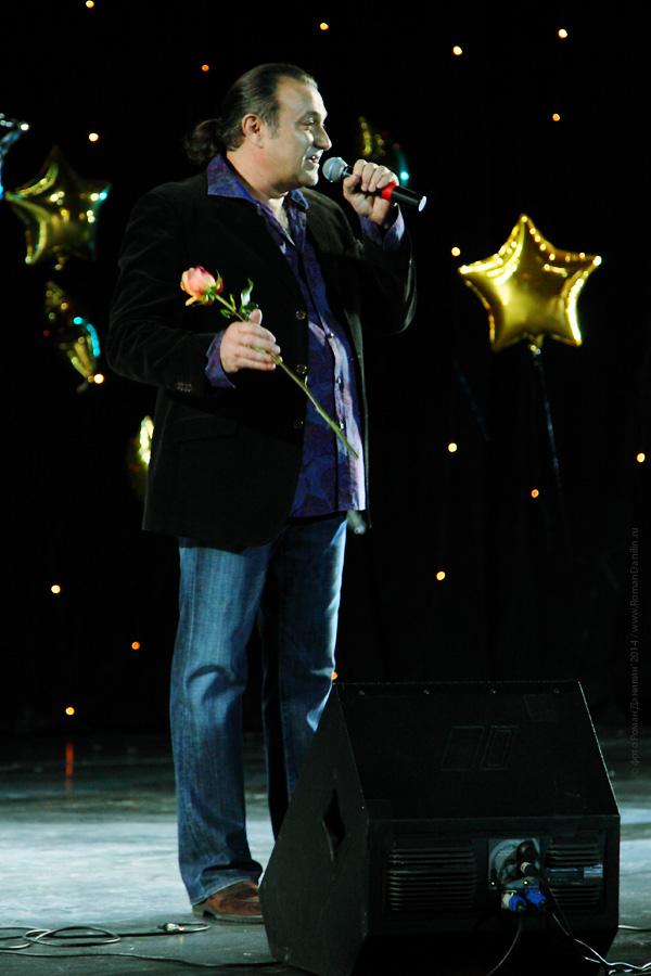 Валерий Курас. Концерт Новогодний шансон. 2 января 2014 года, КЗ Мир, Москва © фото Роман Данилин' 2014 / www.RomanDanilin.ru