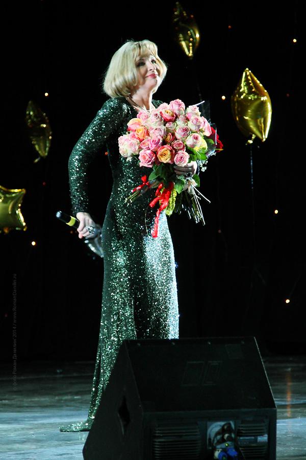 Катерина Голицына. Концерт Новогодний шансон. 2 января 2014 года, КЗ Мир, Москва © фото Роман Данилин' 2014 / www.RomanDanilin.ru