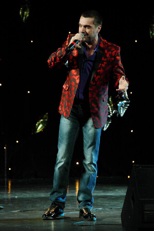 Сергей Куприк. Концерт Новогодний шансон. 2 января 2014 года, КЗ Мир, Москва © фото Роман Данилин' 2014 / www.RomanDanilin.ru
