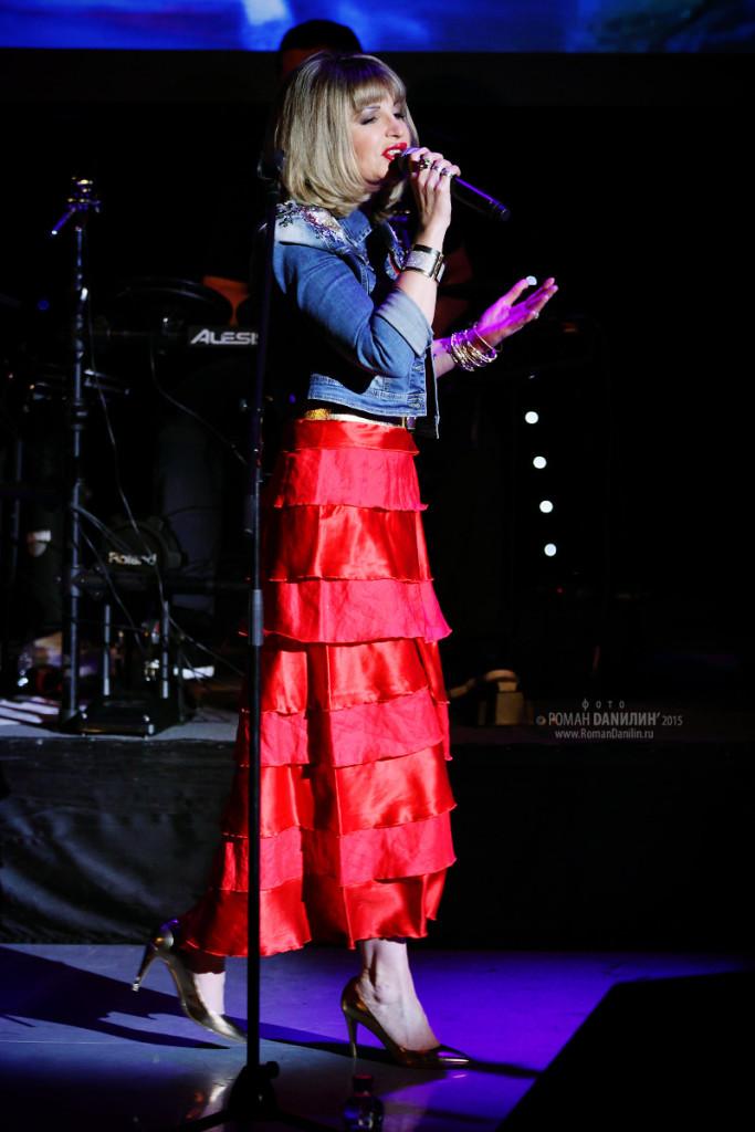 Катерина Голицына, концерт Бессовестно счастливая, 5 декабря 2015 года, театр Золотое кольцо, Москва © фото Роман Данилин' 2016 / www.RomanDanilin.ru