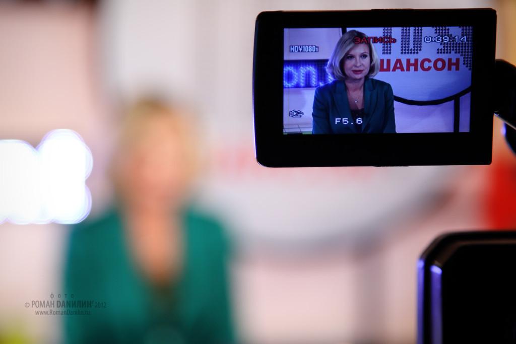 Катерина Голицына ведущая телеканала Шансон ТВ © фото Роман Данилин' 2012 / www.RomanDanilin.ru