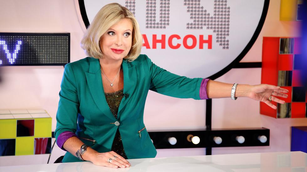 Катерина Голицына на Шансон ТВ