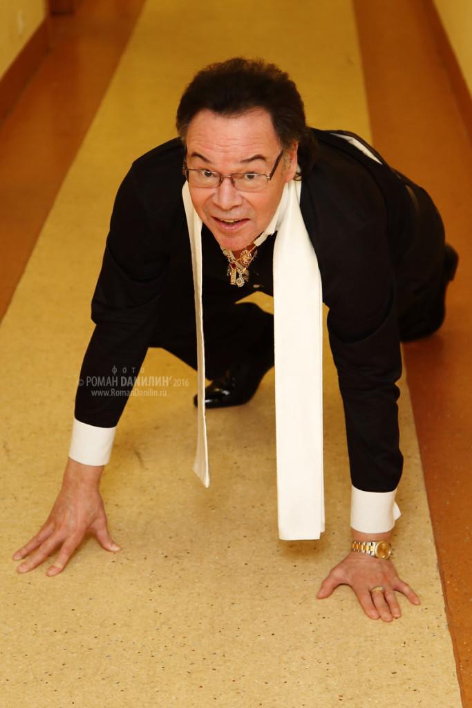 Михаил Муромов. Концерт Хиты 80-90-х. 1 января 2016 года, Планета КВН, Москва © фото Роман Данилин' 2016 / www.RomanDanilin.ru