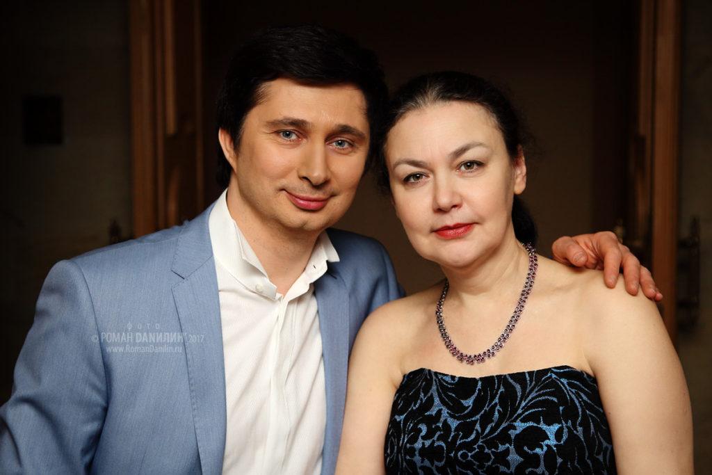 Андрей Приклонский и Татьяна Капелевич