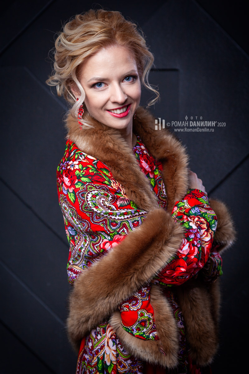 Певица Елена Любарец. Фотосессия 2020 © фото Роман Данилин' 2020 / www.RomanDanilin.ru