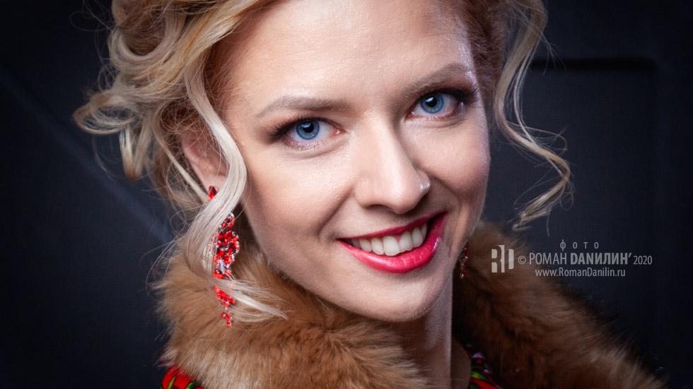 Певица Елена Любарец, фотосессия 2020 © фото Роман Данилин' 2020 / www.RomanDanilin.ru