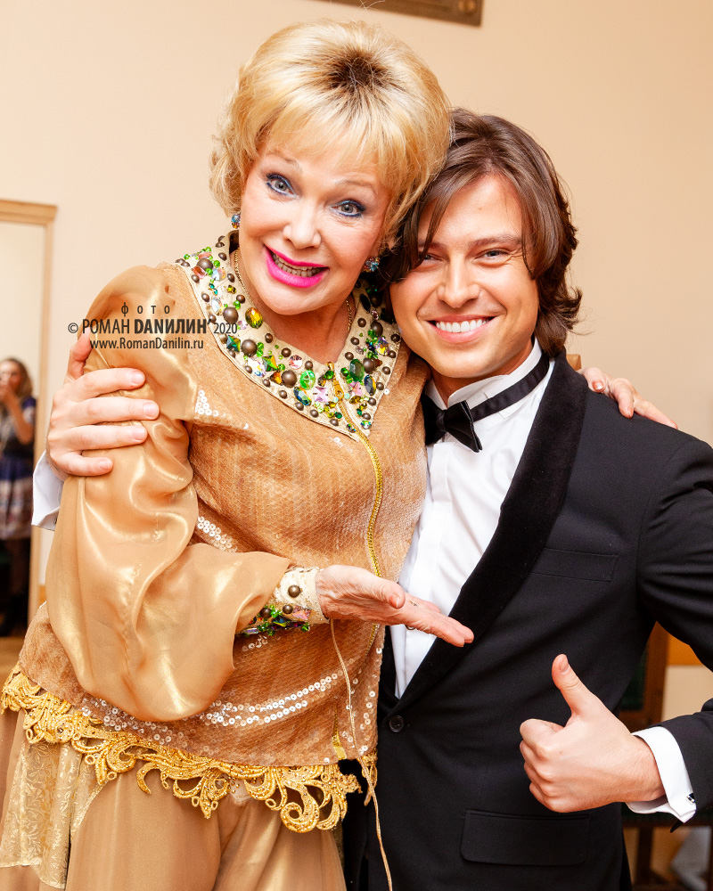 Екатерина Шаврина и Прохор Шаляпин © фото Роман Данилин' 2020 / www.RomanDanilin.ru