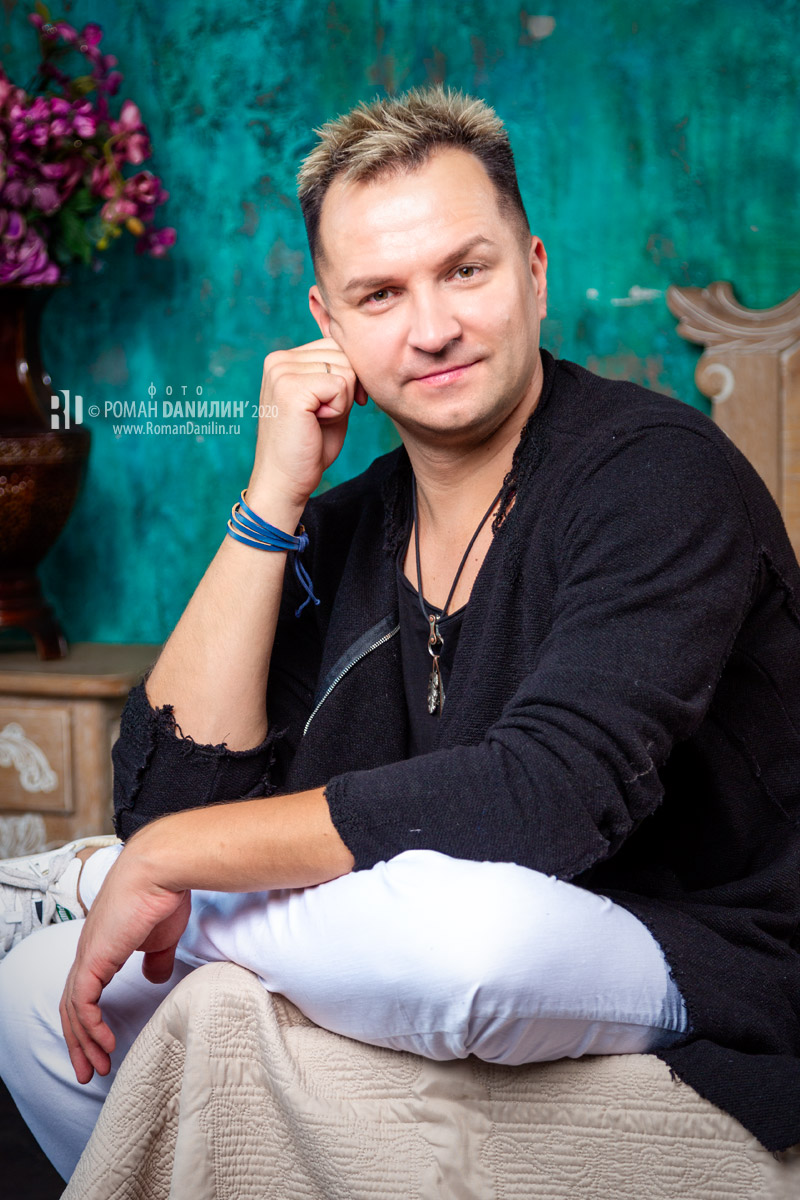 Дмитрий Прянов. Фотосессия 2020 © фото Роман Данилин' 2020 / www.RomanDanilin.ru